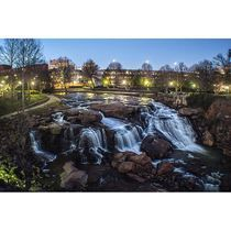 SC: Greenville - The food scene here will surprise you., Thebest state park in South Carolinais just outside the city at Caesars Head, complete with a 420ft waterfall. And biking along the Swamp Rabbit Trail takes you past Furman's scenic campus to the town of Travelers Rest.