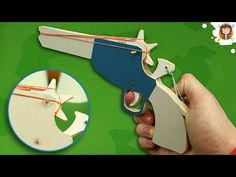 Learn how to make a pistol that can shoot more than 15 meters away. This weapon shoots with a trigger! WARNING-Use this weapon carefully don't shoot at anyon. Kids Activities At Home, Rubber Band Gun, Home Made Simple, Pocket Pistol, Free Gift Card Generator, Metal Toys, Wooden Toys, Woodworking Toys, Diy Cardboard
