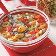 Tortellini Bean Soup Mix