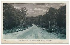 Hwy Highway 60 Algonquin Park ON Ontario Huntsville Forester Press c. 1948  | eBay