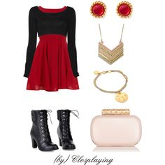 """Garnet (Steven Universe) Closplay"" by closplaying on Polyvore"