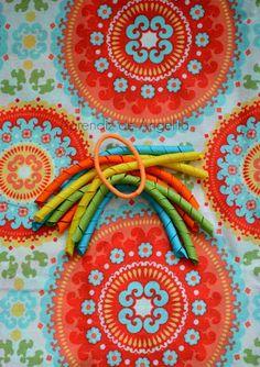 Aprendiz de Angelita: Tutoriales/ How to make cute curled ribbon at home.