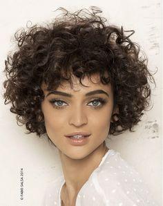 Fabio Salsa - Medium Curly Hairstyle