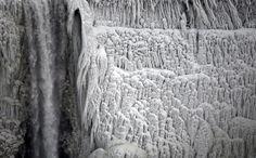Les (vraies) images des chutes du Niagara gêlées | Atlantico