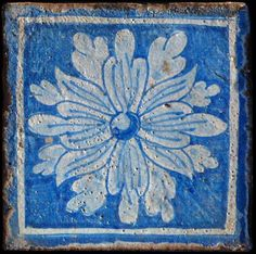 Reproduced medieval tile