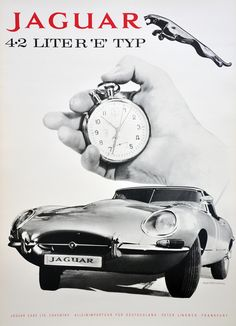 Jaguar Showroom Poster