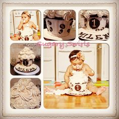 #smash #birthday #cake #birthdaycake #first-birthday #baby #pics #toronto #sugaryswirls - 1st birthday Smash cake - happy birthday Mimi Custom Birthday Cakes, Cake Smash, Toronto, Happy Birthday, Baby, Happy Brithday, Cake Smash Cakes, Urari La Multi Ani, Newborns