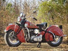 Nice classic motorcycle