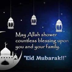 #eidmubarak #ameen Eid Mubarak Images, Islam Online, Text Me, Hadith, Islamic Quotes, Ramadan, Quran, Allah, Muslim
