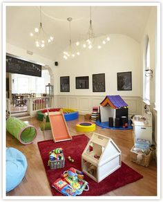 Nursery school design ideas home interior design plans for Interior designs play