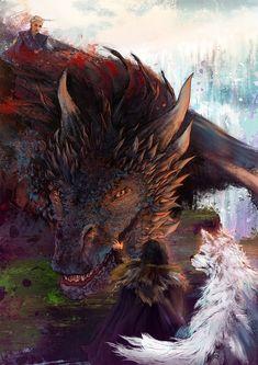 Tough Game of Thrones Trivia Drogon Game Of Thrones, Game Of Thrones Dragons, Got Dragons, Game Of Thrones Houses, Game Of Thrones Art, Mother Of Dragons, Dragon 2, Fantasy Dragon, Fantasy Art