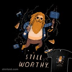 """""""Still Worthy"""" by Louis Roskosch Inspired by Thor and Avengers: Endgame Marvel Dc Comics, Marvel Avengers, Dc Comics Art, Marvel Funny, Marvel Memes, Marvel Girls, Super Marvel, Marvel Universe, Comic Art"""