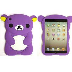 iPad Mini Housse Ours violet