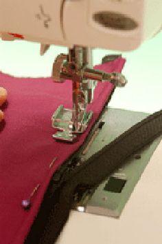 Inserting a Zipper Learn Sewing, Learn To Sew, Lady, Zipper, Fashion, Moda, Fashion Styles, Zippers, Fashion Illustrations