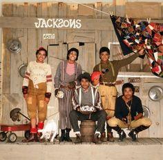 Michael Jackson Rare Thriller Era | INEDITA] Michael con i fratelli