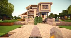 My Minecraft Ultra Modern house! - Imgur
