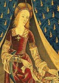 Musée de Cluny - La dame à la licorne est le titre d'une série de six tapisseries flamandes représentant les sens