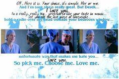 Pick me, Choose me, Love me