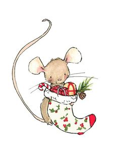 Holiday Decor MERRY MOUSE.