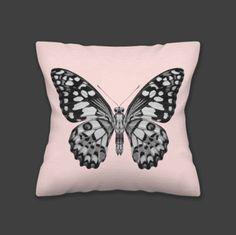 Almofadas Borboleta Soft Pink - O Mundo de Maria