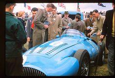 1956 GP Wielkiej Brytanii (Silverstone) Gordini T32 (Andre Pilette)