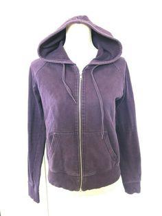 ecdf33b4fb3a Ladies H M Purple Zip Up Jumper Size EUR 40 UK 12  fashion  clothing