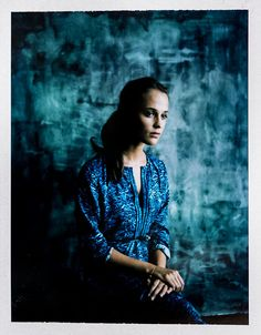 Alicia Vikander of The Man from U.N.C.L.E., photographed in the L.A. Times Hero Complex photo studio at Comic-Con 2015, in San Diego, July 11, 2015.  (Jay L. Clendenin / Los Angeles Times)