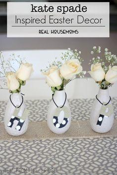 Kate Spade Inspired Easter Decor   Real Housemoms