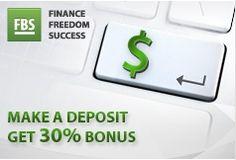FBS Forex Bonus – 30% on Deposit