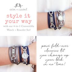 We <3 to empower women! Style it your way for a style as unique as YOU!