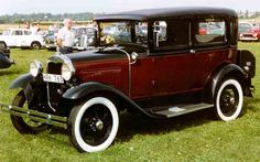 1930 Ford Model A 55B Tudor Sedan - love to have one for my future wedding... *sighs*