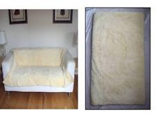MALO ITALY CASHMERE & MINK REAL FUR PLUSH REVERSIBLE COVER BLANKET THROW $25,000