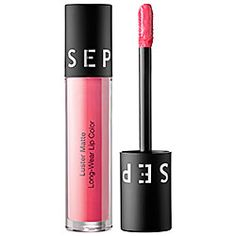 SEPHORA COLLECTION Luster Matte Long-Wear Lip Color in Pink Flush #sephora