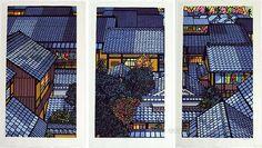 KARHU, Clifton ((1927, Minnesota - 2007, Kyoto)) - Nishuin Roofs