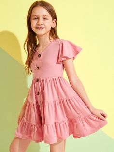 Girls Dresses, Shop Girls Dresses Online | SHEIN UK