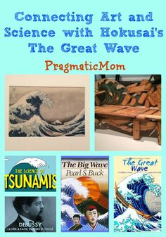 Blog post at PragmaticMom : It's amazing how a single piece of art can have a ripple effect, inspiring others all around the world and for many generations. Hokusai's i[..]