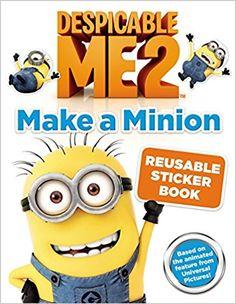Despicable Me Sticker Book //Price: $10.00 & FREE Shipping //     #stuart #minionfan #minionfanart #smile
