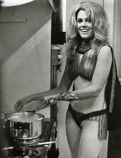 Jane Fonda as Barbarella~♛