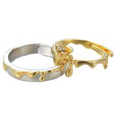Adjustable Honey Love Promise Rings For Couples In Sterling Silver Love Promise, Promise Rings For Couples, Matching Couple Rings, Honey Love, Fashion Couple, Rings For Her, Love Ring, Fashion Rings, Wedding Bands