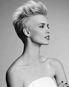 One of the possible Haircuts for short hair is the faux hawk browse through the pages to find your ideal short hairstyle.