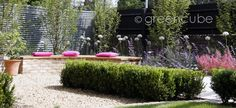 greencube garden and landscape design, UK: Pretty in PInk....