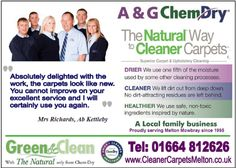 For excellence in Carpet Cleaning Melton Mowbray look no further. Find out more about carpet cleaning >>