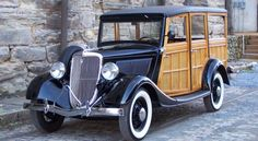 Hooniverse Weekend Edition: Classic Woodies featured at the Raleigh Classic Car Auction Vintage Cars, Antique Cars, Veteran Car, Woody Wagon, Ford Classic Cars, Old Fords, Us Cars, Car Ford, Ford Motor Company