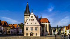 Bardejov city center, Prešov region, Slovakia