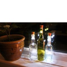 Flaschenlicht - Bottle light