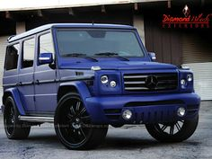 ONLY the powder blue G Wagon to whip
