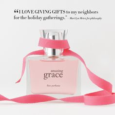 A scent that everyone seems to love! @philosophy skin care amazing grace! #GiftIdeas