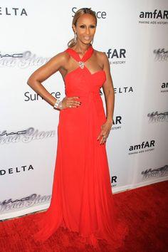 Iman de Valentino - Gala amfAR 2013