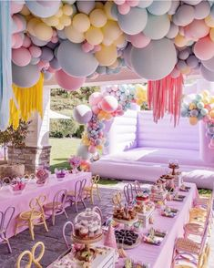 Balloon Ceiling Decorations, Balloon Decorations Party, Birthday Party Decorations, Baby Shower Decorations, Decoration Party, Balloon Installation, Ceiling Installation, 3rd Birthday, 1st Birthday Parties