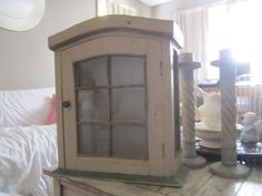 Hey, I found this really awesome Etsy listing at https://www.etsy.com/listing/186065789/handmade-shabby-chic-cabinet-curio